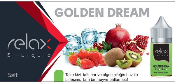 golden dream salt likit satışı