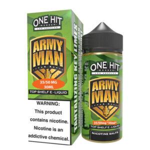 One Hit Wonder Army Man sütlü Salt Likit