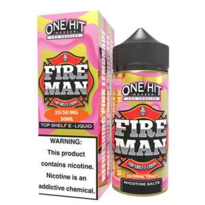 One Hit Wonder Fire Man limonatalı Salt Likit