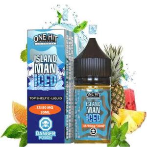 One Hit Wonder Island Man Iced ananaslı Salt Likit